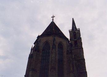 塔の見上げ 塔の見上げ ローテンブルグの教会(ドイツ) ローテンブルグの教会(ドイ... 株式会